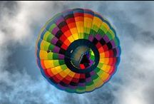 Hot-Air-Balloon Race / Helen, Ga hosts our annual Hot-Air-Balloon race every year from here to the Atlantic. Check out the gorgeous balloons that participate every year.