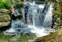 The Waters of North Georgia / Here you'll find great pictures of the flowing Chattahoochee River, as well as some beautiful lakes & waterfalls in our area. Love living in Helen, Ga!