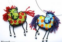 Beaded Animals and Figures