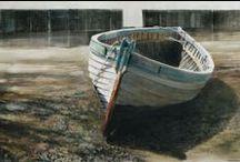 Rupert Brown watercolours / Our resident artist at Borley Mill. http://www.rupertbrown.co.uk/