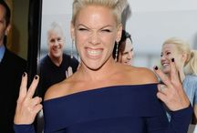P!nk / I am a little obsessed..... lol / by amy burrows