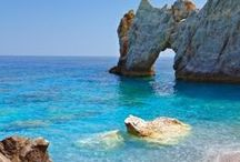 Skiathos / Views from the busy and beautiful island of Sporades.