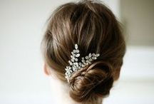 Hairstyles / Hairstyle & beauty inspiration for the bride and bridesmaids.