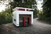 Amazing Dog Houses / Incredible puppy pads, Cadoodle cribs and Maltese mansions.