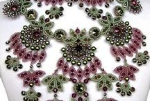 Beaded Necklace / by Martha Foss