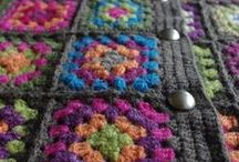 granny squares chic / by Martha Foss