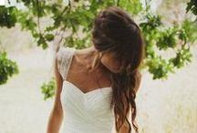 Wedding / wedding ideas (dress, hair, decoration etc)