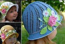 4 jednostavne ideje za decije heklane kape | Carolija stvaranja DIY