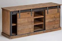 Wood Furniture and Decor Ideas