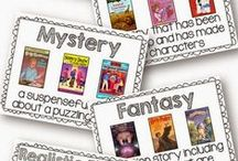 Literacy Loves - FREEBIES! / Free downloads for the classroom.  Posters sets, printables, lesson plans, task cards, station ideas and more!