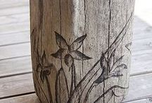 Wood working ideas / Scroll sawing, wood burning etc / by Michelle Logan