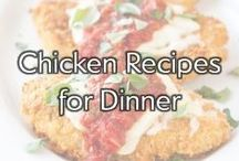 Chicken Recipes for Dinner / This collection of our favorite chicken recipes from some talented food bloggers is sure to inspire any cook.  / by Gold'n Plump