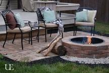 Outside & Fire Pit