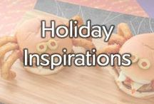 Holiday Inspirations / Spooktacular popsicles to Christmas crafts, there isn't one holiday we aren't a fan of! Check out these holiday ideas and recipes that will make a perfect addition to your menu.  / by Gold'n Plump