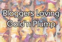 Bloggers Loving Gold'n Plump / We love Gold'n Plump Chicken, but we are even more excited to see these talented bloggers loving Gold'n Plump!  / by Gold'n Plump