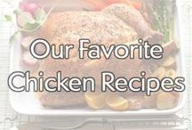 Our Favorite Chicken Recipes / Some of our favorite chicken recipes from the Gold'n Plump recipe database. Use these recipes to create a weeknight family dinner or a weekend meal with friends! / by Gold'n Plump