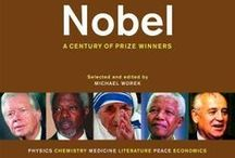 Nobel Prize December 2015 / Every December, the Nobel Prize Award Ceremony honors outstanding accomplishments in numerous fields. This month, we honor Nobel laureates with a book display at the Central Library.