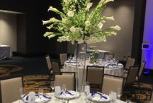 Tall Centerpieces / Add some height and drama to the room with tall centerpieces!