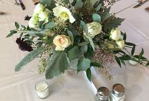 Low Centerpieces / Wedding reception must haves--fresh flower centerpieces of course!