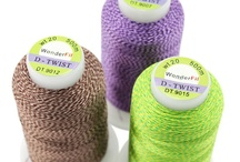 Our Threads / A selection of our WonderFil specialty thread lines