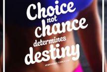 Fitness inspiration & motivation