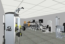 Gym Source Residential Installs / Take a look at some of our favorite home gym installations.  Want one like this?  Give us a call!