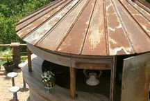 Outdoor Gathering Spaces / Outdoor spaces to entertain family and friends.