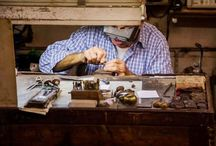 """Our Workshop / Nerdi is an historic #workshop with a strong flavor #Renaissance. Just steps from the #Ponte #Vecchio the workshop is at """"Casa dell' Orafo"""", in the same monastery, where the #Florentine #goldsmiths worked under the ruling #Medici family.  Nerdi tells a fascinating story of passion, #art and #tradition. A laboratory that tells the passion, art and tradition, the creativity of Florence, the industriousness of its people, the history that has made this city and made it only through the centuries."""