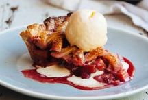 Rhubarb Recipes / It's all about rhubarb - make something with it as long as it is in season!