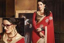 Surat Wholesale Sarees / Buy wholesale designer sarees, party wear wholesale sarees, casual wear sarees collection online at Surat Wholesale Shop