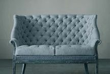 Sofas, poofs