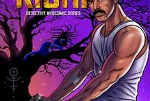 Inspector Rishi - Detective Comics Series / 'Inspector Rishi' detective webcomic series is written & illustrated by Indian filmmaker Nandhini JS. It follows the mystery-solving adventures of Rishi Nandhan, a fictional police inspector from the Criminal Investigation Department, Tamilnadu, India.
