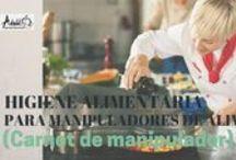 Escuela de Seguridad Alimentaria / Plataforma online de formación y recursos para manipulaodres de alimentos y negocios de hostelería y comercio.