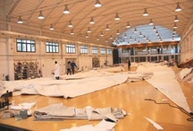 Doyle Italy / The Doyle loft in Italy is equipped and laid out to make large sails, using the latest technology.