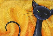 Black Cat Everything / Art and anything with a Chat Noir like my cat Boo!