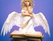 Anjos / Seres alados que nos dão esperança de um mundo melhor.