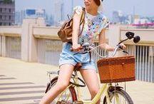 Bicicleta / Pedalando com estilo