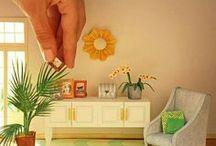 Miniaturas / Casas de bonecas e outras miniaturas fofas