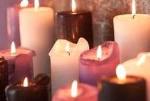 Luz de Velas / Decoração fácil e romântica