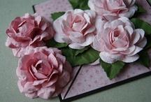 Papieren bloemen