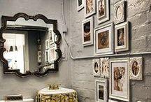 Espelhos / Espelhos ampliam o ambiente e criamum ar de requinte.