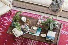 Mesinha de Centro / Mude a decoração de sua sala de estar, mudando a decoração da mesa de centro.