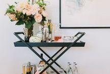 Carrinho Bar / Uma peça de decoração que pode ajudar muito.