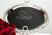 Lousas na decoração / Detalhe de decoração muito prático e fácil de fazer.