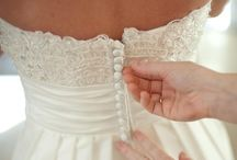 Wedding dresses. / White everywhere!  / by Molly Kulp