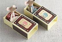Caixas de Fósforo / Ideias de artesanato com caixas de fósforo.