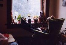 Cantinho de leitura / Para aqueles momentos íntimos entre você e seu livro preferido