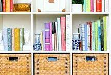 Estantes de Livros / Práticas e Decorativas