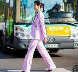 Caroline Issa / Uma das fashionistas mais antenadas do planeta. Nunca vi errar num look.