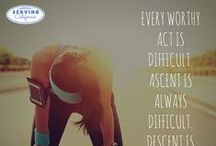 Inspirational Quotes / Quotes to encourage, inspire, motivate and challenge